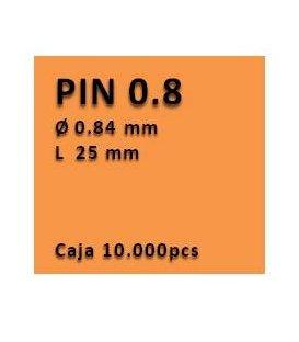 Clavo sin cabeza clavadora 0.8 - 25 PU0825