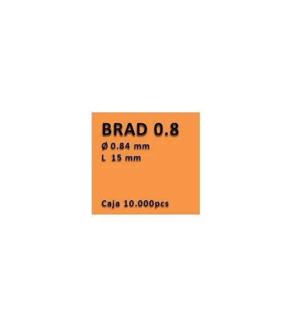 Clavo con cabeza clavadora 0.8 - 15 PV0815