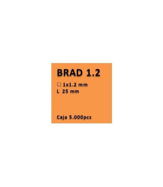 Clavo con cabeza clavadora 1.2 - 25 PV1225
