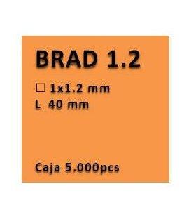 Clavo con cabeza clavadora 1.2 - 40 PV1240