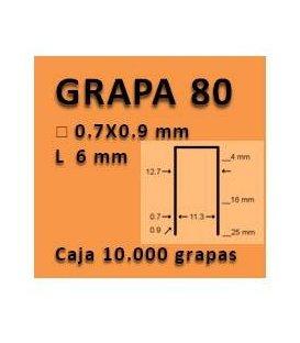 Grapa linea 80 - 6 GR008006