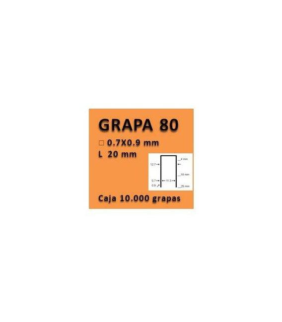 Grapa linea 80 - 20 GR008020