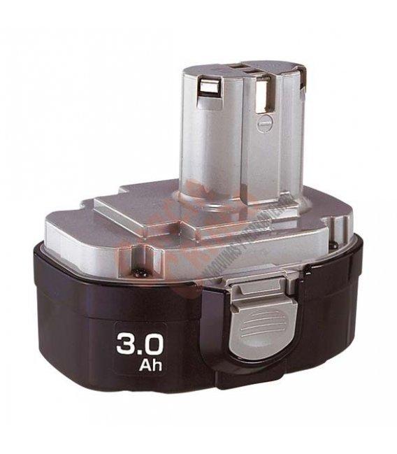 Batería Ni-MH 18,0 V 3,0 Ah 1835