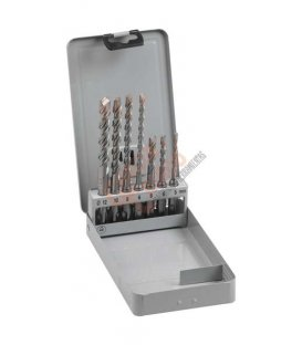Estuche de 7 brocas SDS-PLUS Mak2 P29745