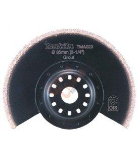 Cuchilla de limpieza HM segmentada multiherramienta makita B21490