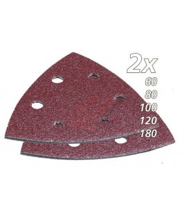 Set de lijas de velcro triangular multiherramienta makita B21559