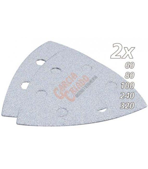 Set de lijas de velcro triangular multiherramienta makita B21674