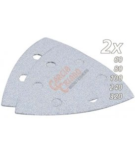 Set de lijas de velcro triangular multiherramienta makita B21674