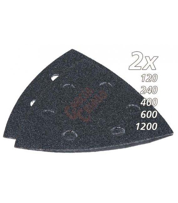Set de lijas de velcro triangular multiherramienta makita B21733
