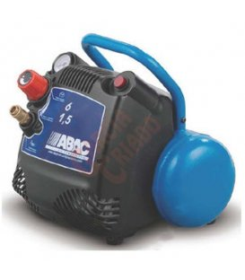 Compresor sin aceite 1,5cv 6lt. Abac STAR015