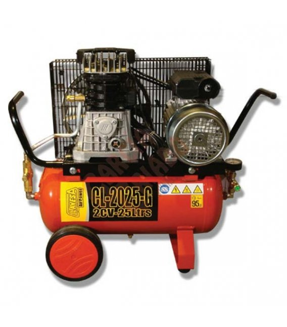 Compresor de correas 2cv 24lt CL2025G