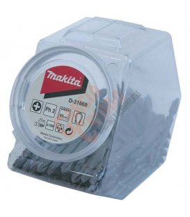 Bote puntas dobles granel PH2 Makita D31669